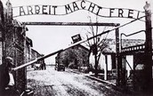 The front gate of Auschwitz 2