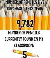 Oh where, oh where, has my pencil gone?