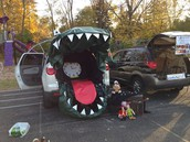 Have a blast as the kids trick or treat from trunk to trunk