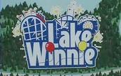 The Lake Winnie Sign