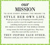 Our Mission...