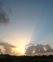 Sunrise at Zion House