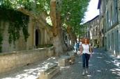 Les rues de Avignon.