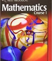 6th Grade Mathematics Textbook