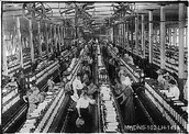 The factory duing the Industrial Revolution