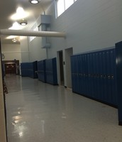 Blue Lockers (7th grade hallway)