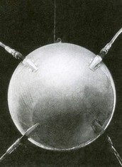 First space probe (1950's)