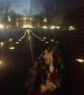 El memorial de Vietnam