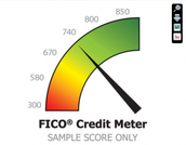 WHAT IS THE RANGE FOR A FICO SCORE?