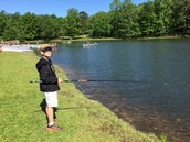 Nate fishing