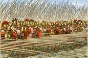 Het Griekse leger.