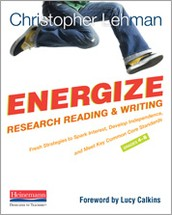 Professional Reading Recommendation:  Energize Research Reading & Writing (4-8)