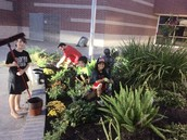 Robison Students Helping Our School