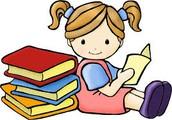 Me gustaba leer y escribir porque era intelligente.