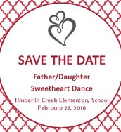 Save the Date: Father / Daughter Sweetheart Dance