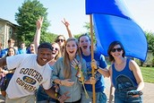 Relationships are at the heart of the Goucher experience.