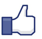 Like sign on Facebook.