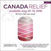 Canadian Relief - Money Raised will go to the Canadian Red Cross