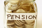 Eligeable for Pensions;