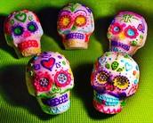 Sugar Skull Candies