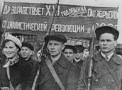 POLÍTICA EN LA REVOLUCIÓN RUSA.