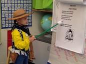 Olivia as Woody
