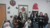 Teachers Compete in Door Decorating Contest
