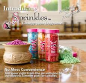 All Natural Soy Scented Sprinkles