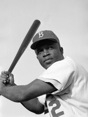 a little knowledge of base ball legend Jackie Robinson