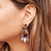 Bouquet Statement Earrings $48