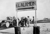 E is for... El Alamein