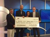 Abraxas Awarded $20,000