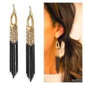 Lilith Fringe Earrings