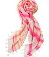 Capri Wrap - Glow Pink/Coral Stripe