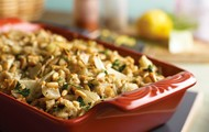Roasted Fennel with Lemon Stuffing