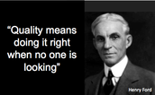 A quote from Henry Ford