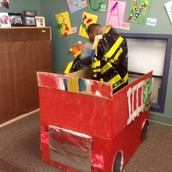 Check out our fire truck!