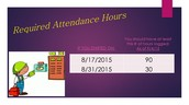 Attendance Hours
