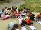 Drawing Eliot School Outside