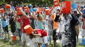 Check out this article about the ALS Ice bucket Challenge!