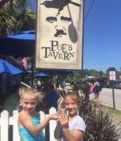 Louie at Edgar Allen Poe's Tavern