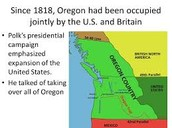 1827-- UK and Us jointly agree to occupy Oregon
