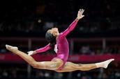 Gymnastics and softball are my favorite sports.