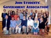 As a Students' Government Association Senator...