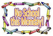 No School Monday