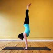 Another thing that i loved to do in gymnastics i a handstand