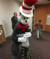 Sam K. LOVES the Cat in the Hat!