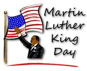 Monday, January 18, 2016 - No School - Martin Luther King, Jr.