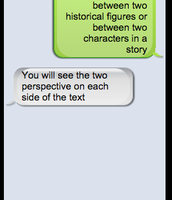 SMS Fake Texting (Communication, Collaboration, Critical Thinking)