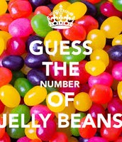 the number of jelly beans in the jar